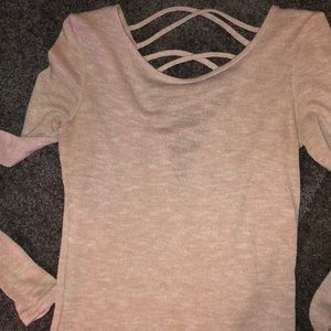 H&M long sleeve knit material size S/XS